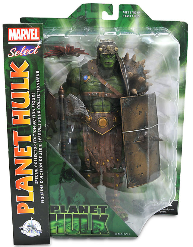 Marvel Select Planet Hulk Figure Packaged