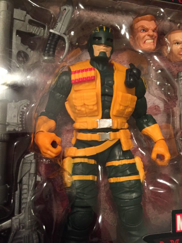 Marvel legends Hydra Enforcer Figure Close-Up
