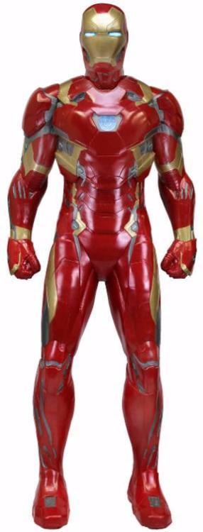 NECA Iron Man Life Size Foam Civil War Figure