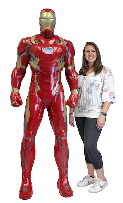NECA Life Size Iron Man Civil War Armor Foam Figure
