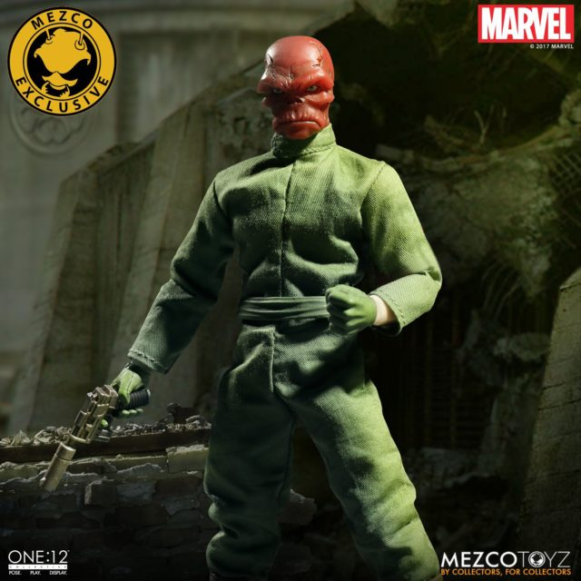 NYCC 2017 Exclusive Mezco Toyz Red Skull ONE12 Collective Figure