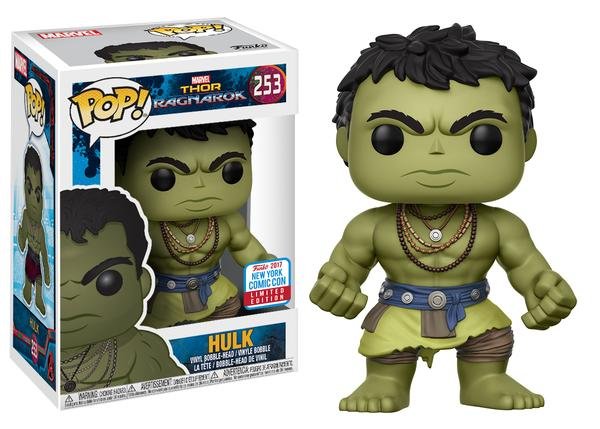 NYCC 2017 Funko Casual Hulk Ragnarok POP Vinyl Exclusive