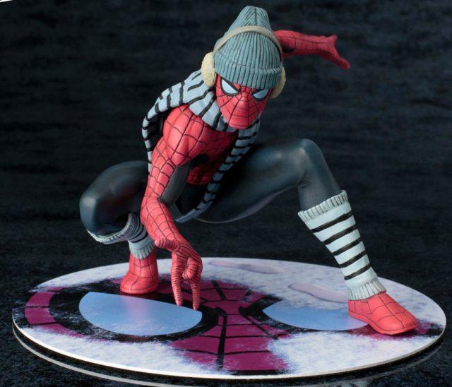 NYCC 2017 Kotobukiya Winter Gear Spider-Man Figure