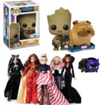 NYCC 2017 Toys R Us Exclusives: Groot POP & Fan Girls Dolls!