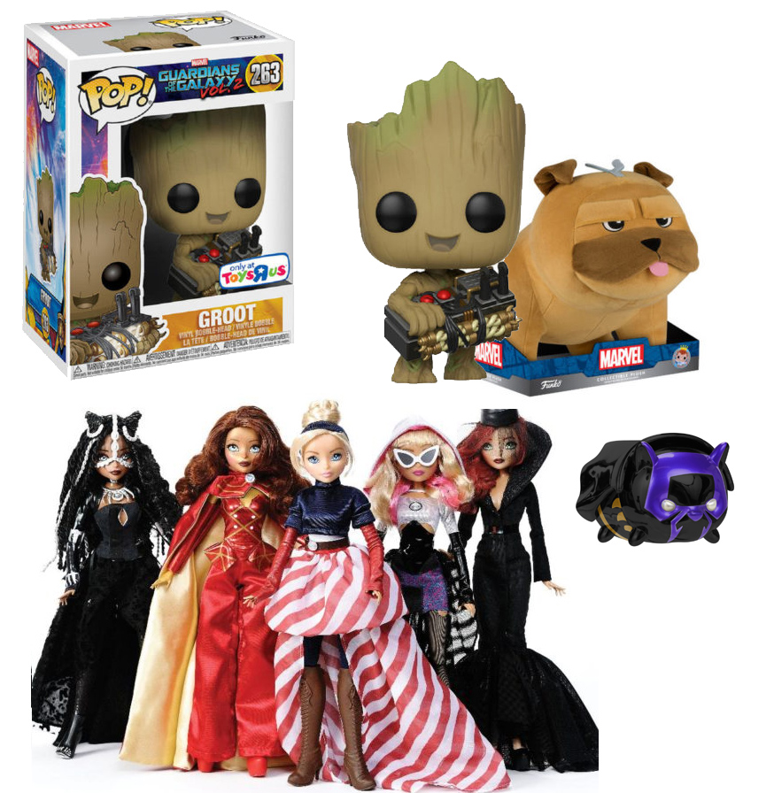 Marvel Toys R Us : Nycc toys r us exclusives groot pop fan girls