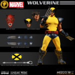 NYCC 2017 Exclusive ONE:12 Collective Yellow Wolverine Figure!