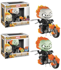 PX Exclusive Funko POP Vinyls Ghost Rider on Motorcycle Sets