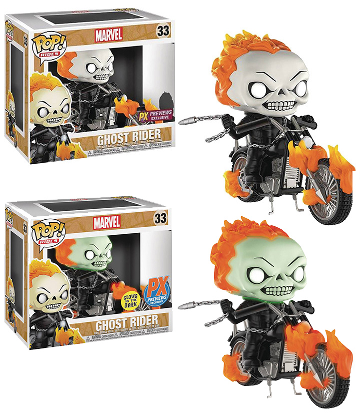 Funko POP Ghost Rider & Motorcycle Exclusives Up for Order! - Marvel ...