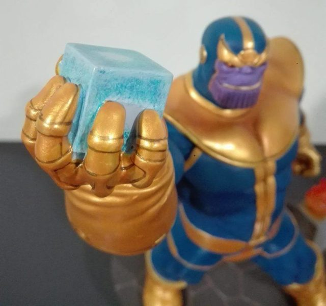 Premier Collection Thanos Cosmic Cube Statue