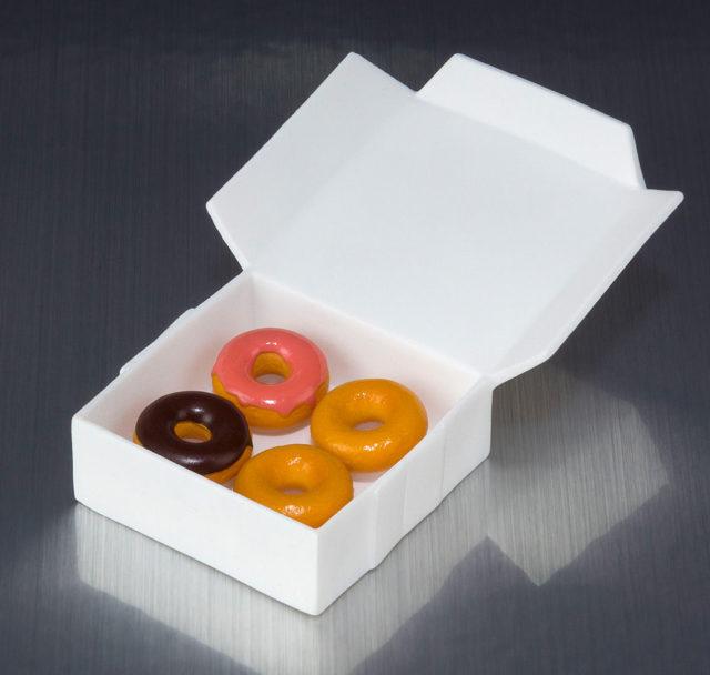 SH Figuarts Iron Man Mark IV Doughtnuts Donuts Box