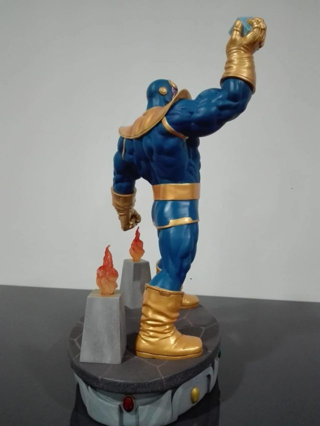 Side View of DST Thanos Resin Statue
