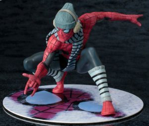 Spider-Man Winter Gear Kotobukiya NYCC 2017 Exclusive ARTFX Statue