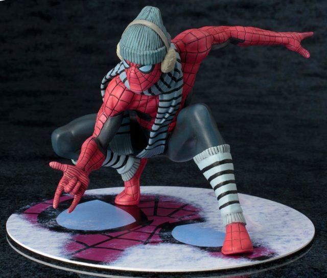 Spider-Man Winter Gear Kotobukiya NYCC 2017 Exclusive ARTFX Statue