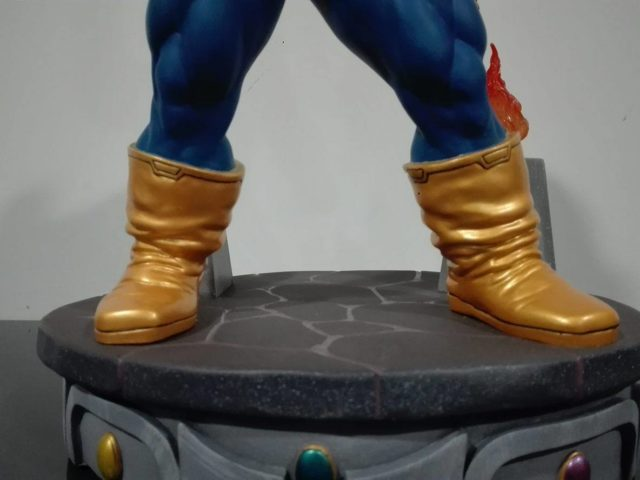 Thanos Marvel Premier Collection Statue Base Infinity Stones