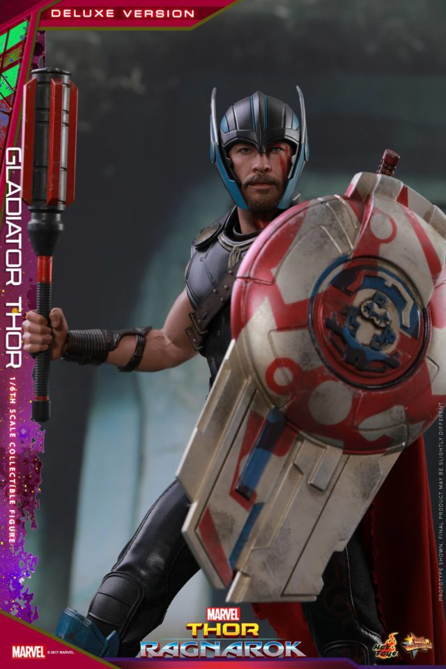 Thor Ragnarok Hot Toys Mace and Shield