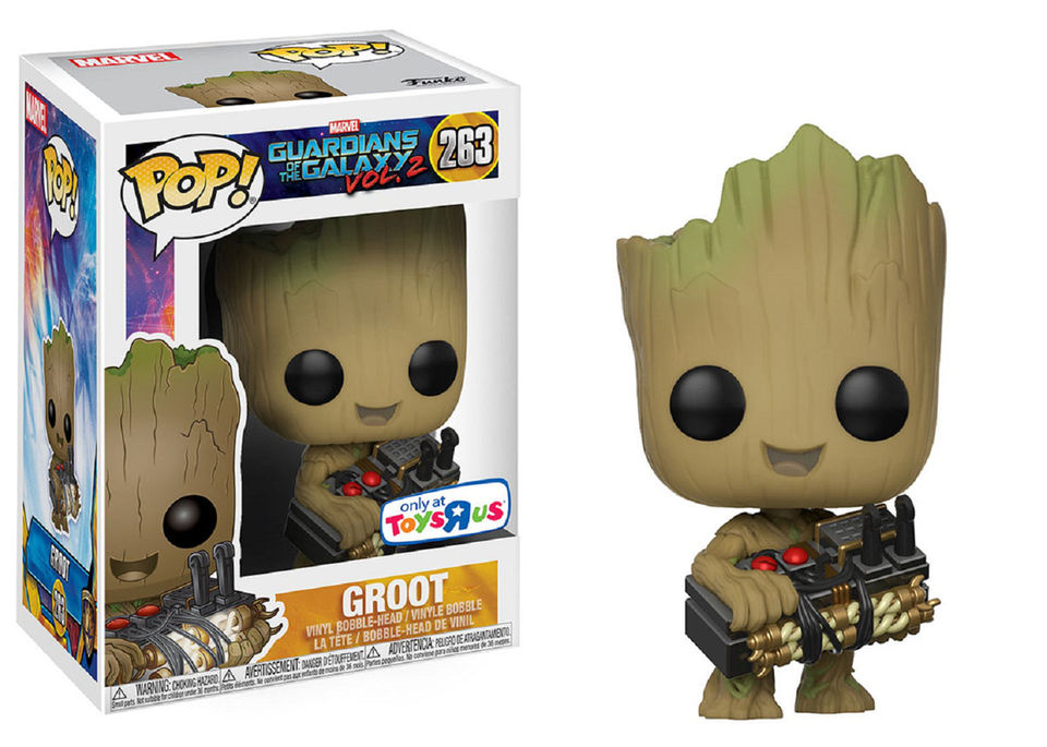 Nycc 2017 Toys R Us Exclusives Groot Pop Amp Fan Girls