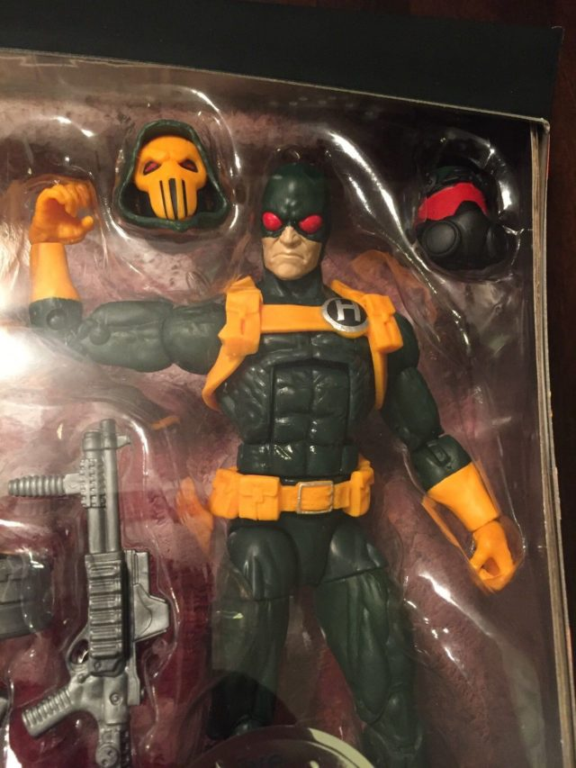 Toys R Us Exclusive Hydra Soldier Figure Close-Up