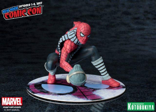Winter Gear Spider-Man ARTFX+ Statue Removable Hat