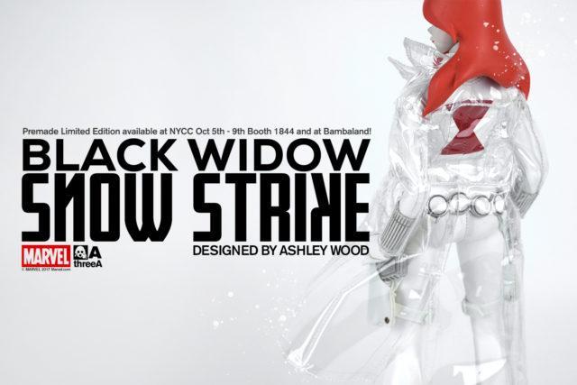 3A Snow Strike Black Widow NYCC 2017 Exclusive