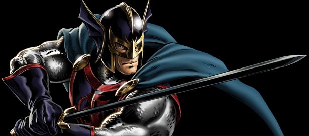 Avengers Alliance Black Knight Winged Helmet