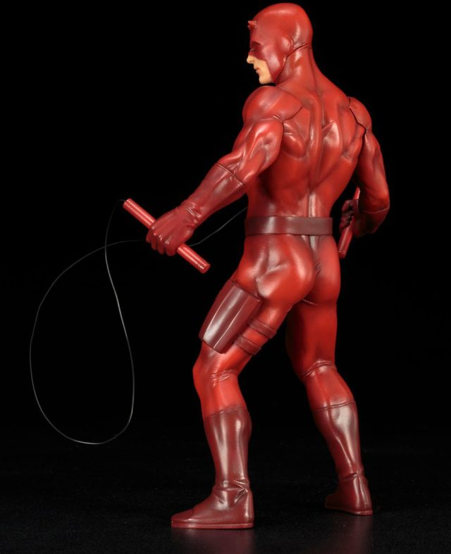 Back of Red Daredevil Statue Kotobukiya ARTFX