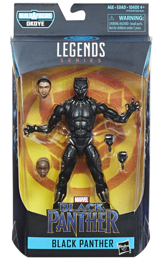 Black Panther Movie Marvel Legends Figure Packaged