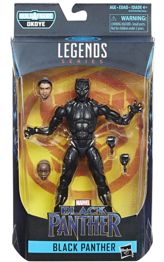Black Panther Movie Marvel Legends Figure Packaged