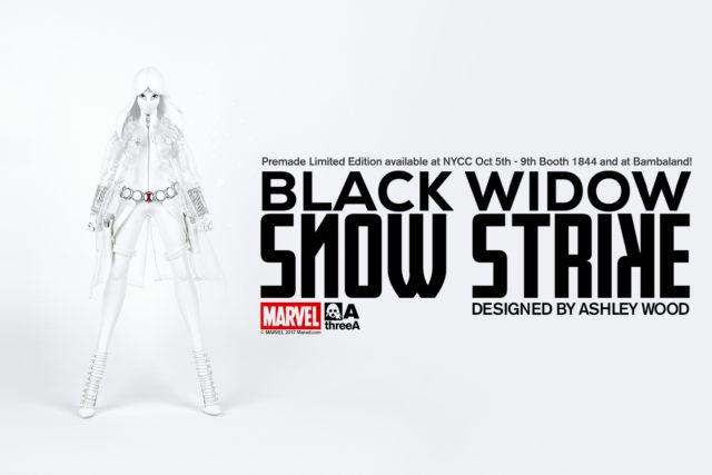 Black Widow Snow Strike Exclusive ThreeA Toys Bambaland 2017 NYCC