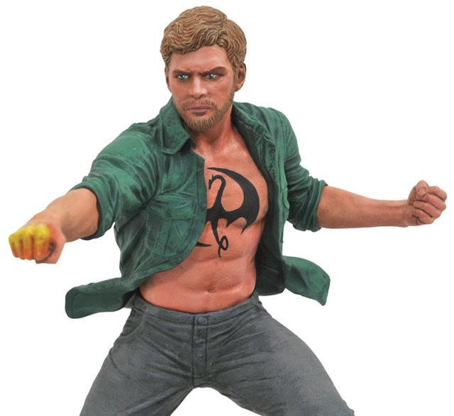 Close-Up of Iron Fist Marvel Gallery Netflix PVC Figure