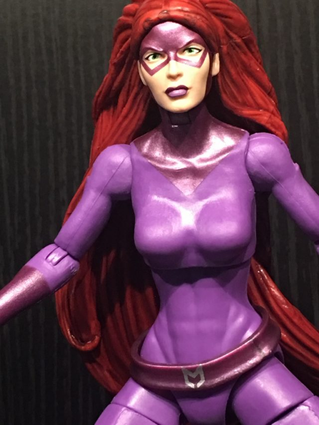 Close-Up of Walgreens Exclusive ML Medusa Six Inch Figure