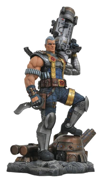 DST Marvel Premier Collection Cable Statue Pre-Order