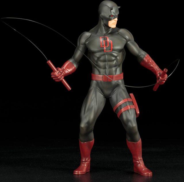 Kotobukiya Defenders ARTFX+ Black Costume Daredevil Figure
