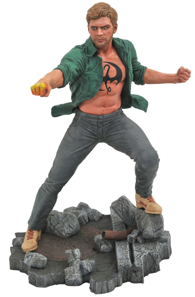Marvel Gallery Netflix Iron Fist Statue PVC