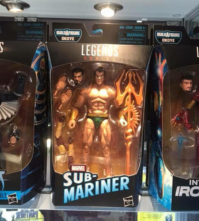 Marvel Legends Black Panther Namor Sub-Mariner Packaged
