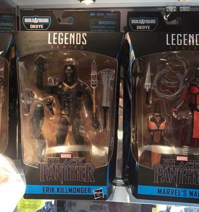 Marvel Legends Erik Killmonger Figure Packaged London Comic Con