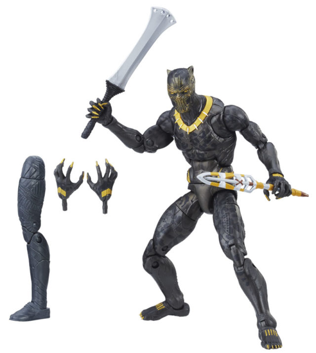 Marvel Legends Erik Killmonger Movie Figure