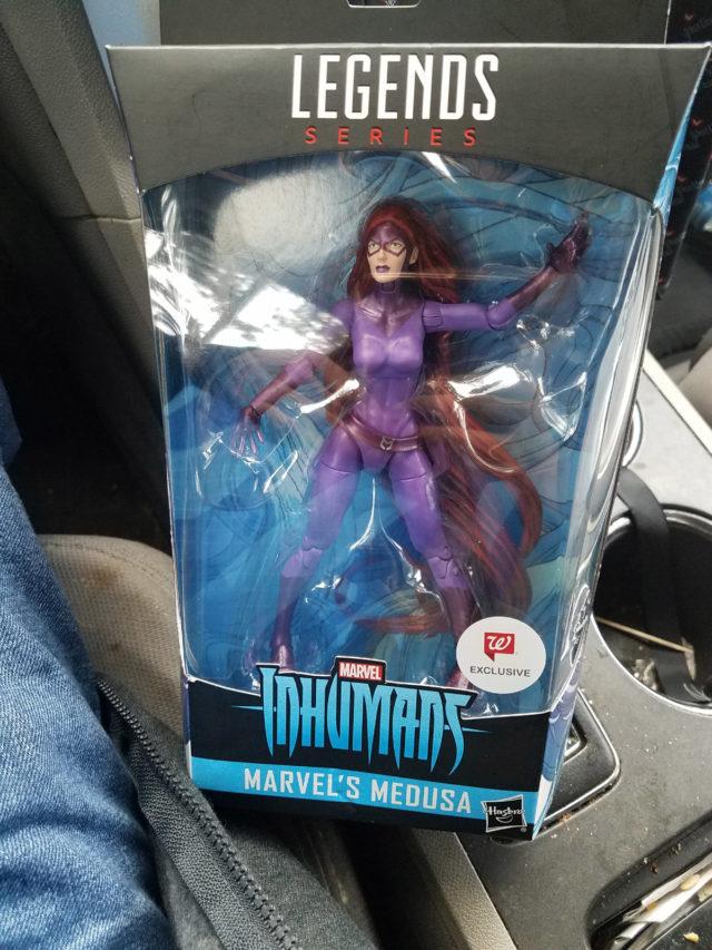 Marvel Legends Medusa Figure Released