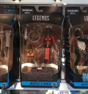 Marvel Legends Nakia Packaged Black Panther Series