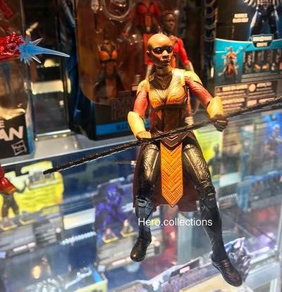 Marvel Legends Okoye Build-A-Figure Dora Milaje Black Panther Movie