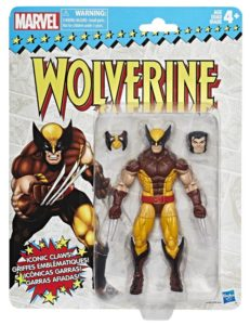 Marvel Legends Vintage Wolverine 6 Inch Figure Packaged