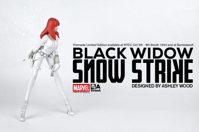 NYCC 3A Snow Strike Black Widow 13 Inch Figure
