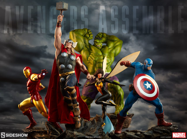 Sideshow Avengers Assembles Statues Series with Wasp