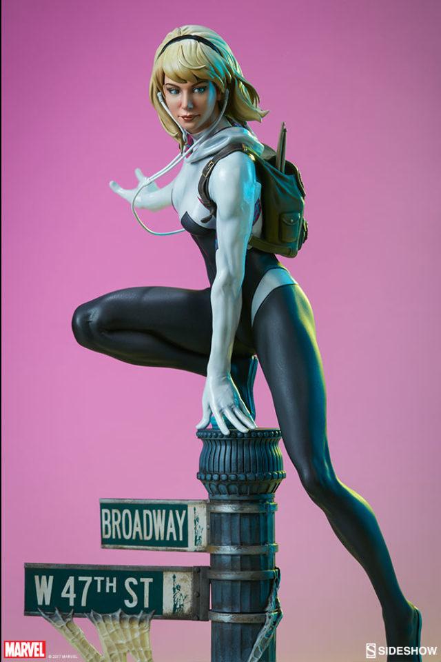 Sideshow Collectibles Exclusive Spider-Verse Spider-Gwen Statue