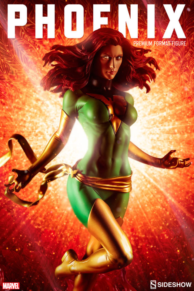 Sideshow Collectibles Green Phoenix Exclusive PF Figure LE 300