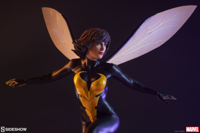Sideshow Collectibles Wasp Statue Avengers Assemble
