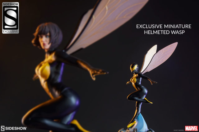 Sideshow Exclusive Miniature Wasp Statue with Helmet