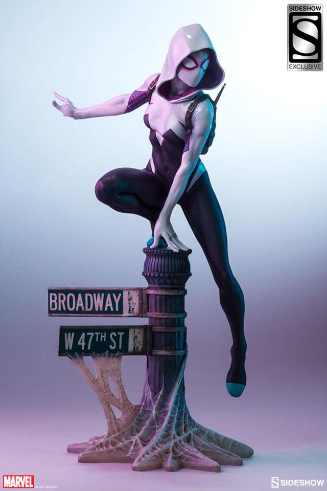 Sideshow Mark Brooks Spider-Gwen Spider-Verse Statue