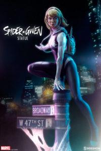 Sideshow Spider-Verse Spider-Gwen Statue Poster