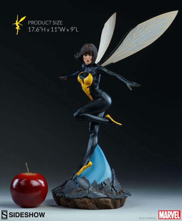 Size Comparison Wasp Sideshow Statue Avengers Assemble