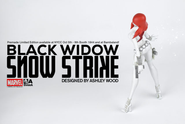 Snow Strike Black Widow NYCC 2017 3A Toys Exclusive
